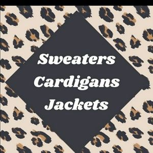 Sweaters, Cardigans and Jackets